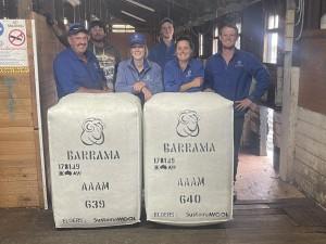 Barrama wool clip 2021